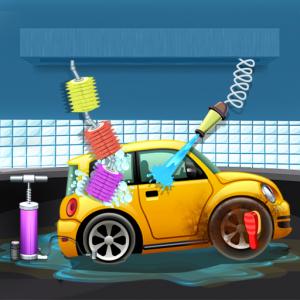 Kids Car Salon Auto Wash Garage