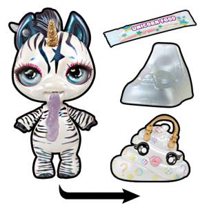 Surprise Unicorn Poop Slime Making